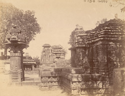 View from the south of the Mukteshvara Temple, Bhubaneshwar